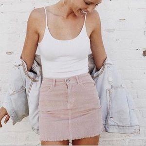 🥀SOLD🥀 Brandy Melville Juliette Corduroy Skirt